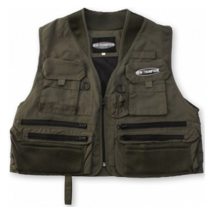 Ron Thompson Rybářská Vesta Ontario Fly Vest M Dusty Olive