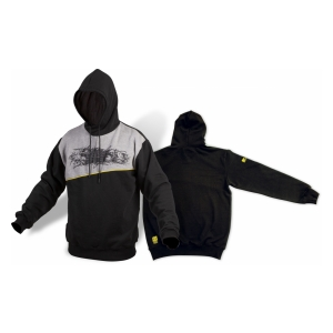 Black Cat Mikina L  Skull Hoody