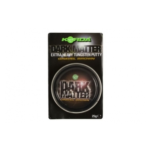 Korda Plastické olovo Dark Matter Tungsten Putty Gravel Brown