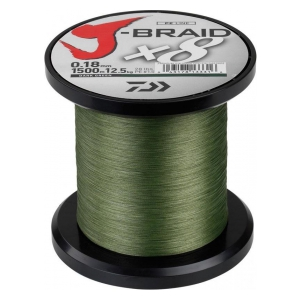 Daiwa J-Braid X8 0.56mm-1m d.green