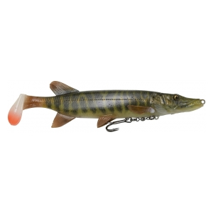 Savage Gear Gumová Nástraha 4D Pike Shad 20 cm 65 g Striped Pike