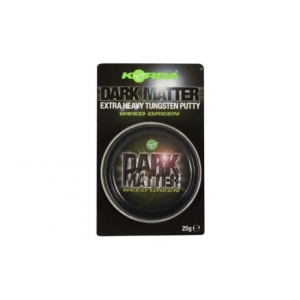 Korda Plastické olovo Dark Matter Tungsten Putty Weed Green