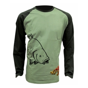 Zfish Tričko Boilie T-Shirt Long Sleeve vel. L