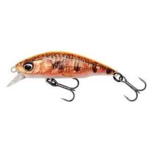 Savage Gear Wobler 3D STICKLEBAIT TWITCH 4.5CM 4G SINKING FLUO ORANGE COPPER