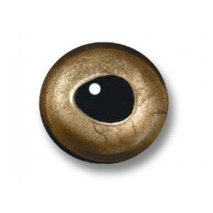 Sybai 3D epoxy eyes - 9mm real gold