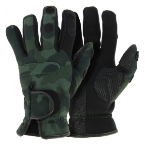 NGT Neoprénové  rukavice Camo gloves XL