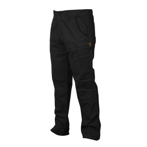 Fox International Kalhoty Collection Black & Orange Combat Trousers vel. XL